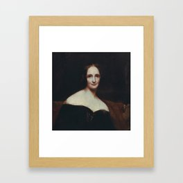 Mary Shelley Framed Art Print