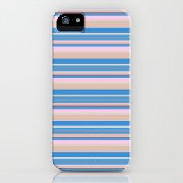 Cherry Blossom Stripes iPhone Case