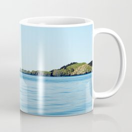 Island on the Horizon Photography Print Coffee Mug