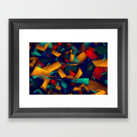 View of my Room from Bed Framed Art Print