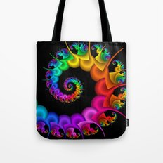 the perky spiral -1- Tote Bag