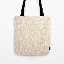 Arabesque Vines 3D - Color: Sahara Sand Tote Bag