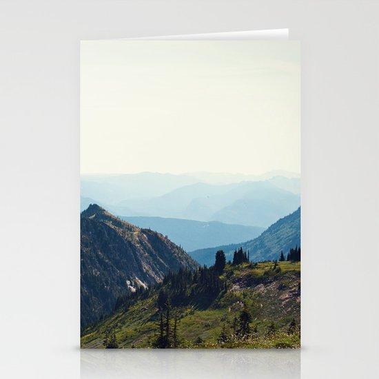 Sunny Mountain Stationery Cards