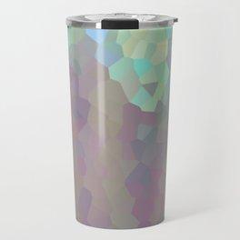 Iridescent Crystal Pattern Travel Mug