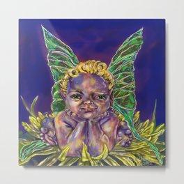 Dandy Leon Faerie Baby Metal Print