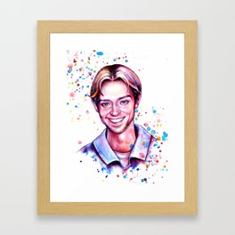Justin Framed Art Print