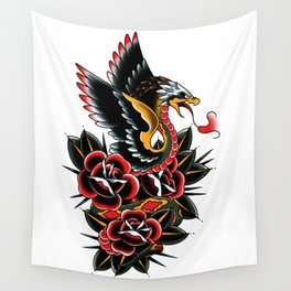 Eagle serpent Wall Tapestry