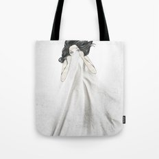 White As A Sheet Tote Bag
