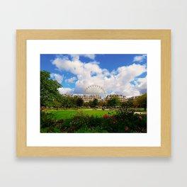 Garden of Tuileries Framed Art Print