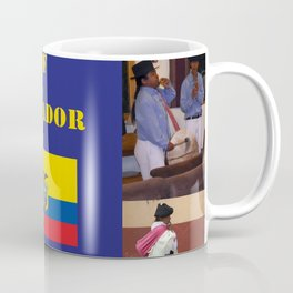 The People of Ecuador, Collage Coffee Mug