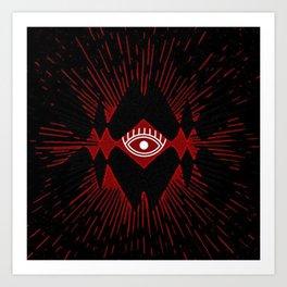 Tribal Eye Art Print