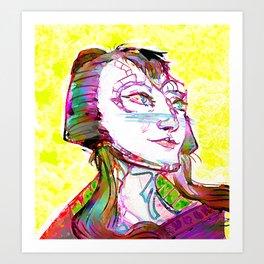Cardassian Youth Art Print