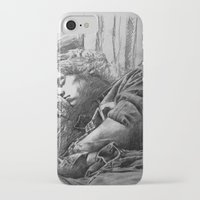 harry styles iPhone & iPod Cases featuring Harry Styles by Adele_F