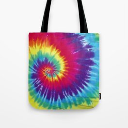 Tie dye hippie Tote Bag