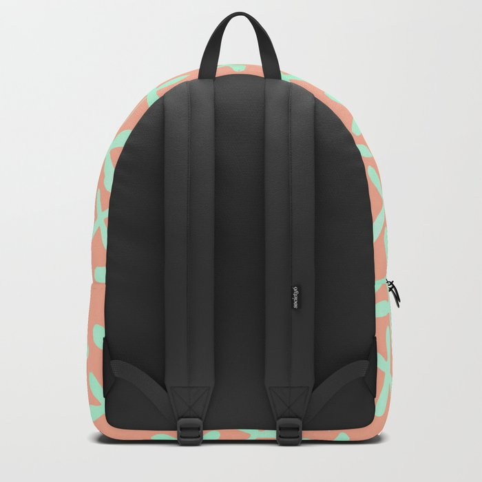 Sweet Life Firefly Peach Coral + Mint Meringue Backpack