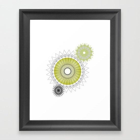 Modern Spiro Art #5 Framed Art Print