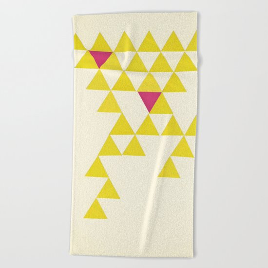 Collapse Beach Towel