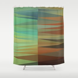 Abstract Composition 682 Shower Curtain