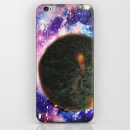 untouched world iPhone Skin