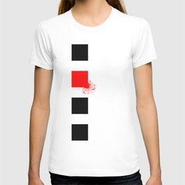 Don't Lose Control (Square) T-shirt