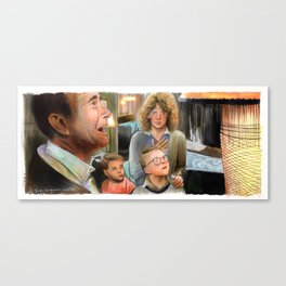 A Christmas Story - Indescribably Beautiful Canvas Print