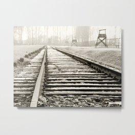Auschwitz 02 Metal Print