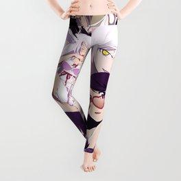 Hanekawa anime collage Leggings