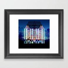 Mad Hatter's House Framed Art Print