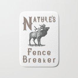 Nature's Fence Breaker Bath Mat