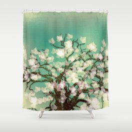Magical Winter Shower Curtain
