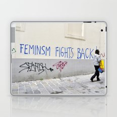Feminism fights back Laptop & iPad Skin