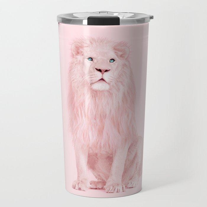 PINK LION Travel Mug
