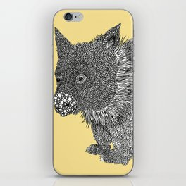 Little Wombat iPhone Skin