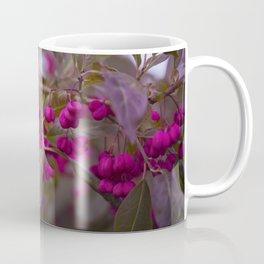 Fruits of Autumn in bold pink Coffee Mug