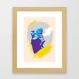 James Augustine Aloysius Joyce Framed Art Print