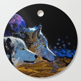 THE WOLF YOU KNOW Cutting Board