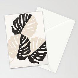 Monstera Delicious #1 #minimal #tropical #decor #art #society6 Stationery Cards