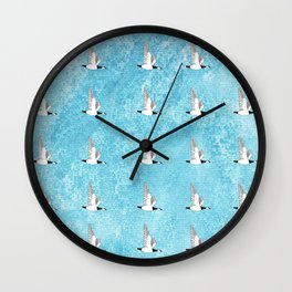 A Gaggle of Geese Wall Clock