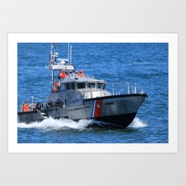 Coast Guard MLB Art Print