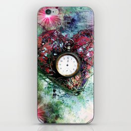Heart of Time iPhone Skin