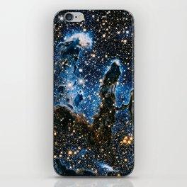 Pillars Of Creation Nebula, Galaxy Background, Universe Large Print, Space Wall Art Decor iPhone Skin
