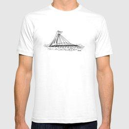 Montréal - Stade Olympique - Black T-shirt