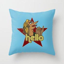 Hello - Carson Throw Pillow