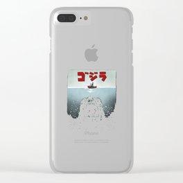Alpha Predator Clear iPhone Case