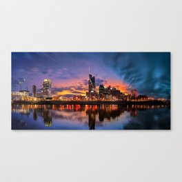 Nashville blue hour Canvas Print