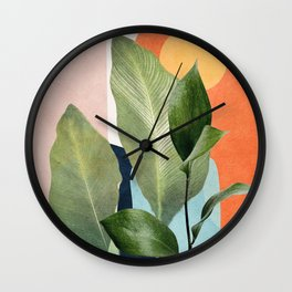 Nature Geometry VII Wall Clock