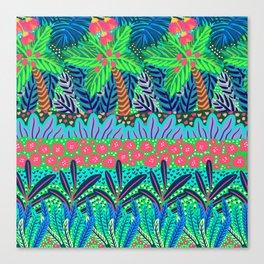 Laia&Jungle III Canvas Print