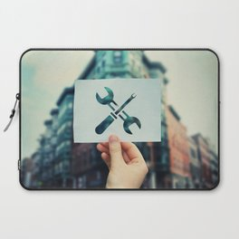 wrench and screwdriver Laptop Sleeve