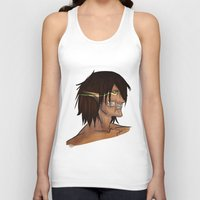 attack on titan Tank Tops featuring Titan Form by JemyArt