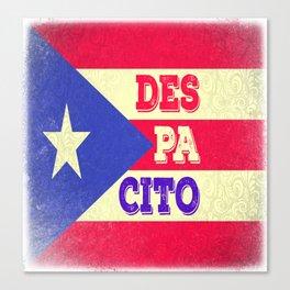 DESPACITO from PUERTO RICO Canvas Print